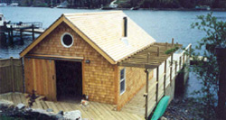 Boathouse Construction